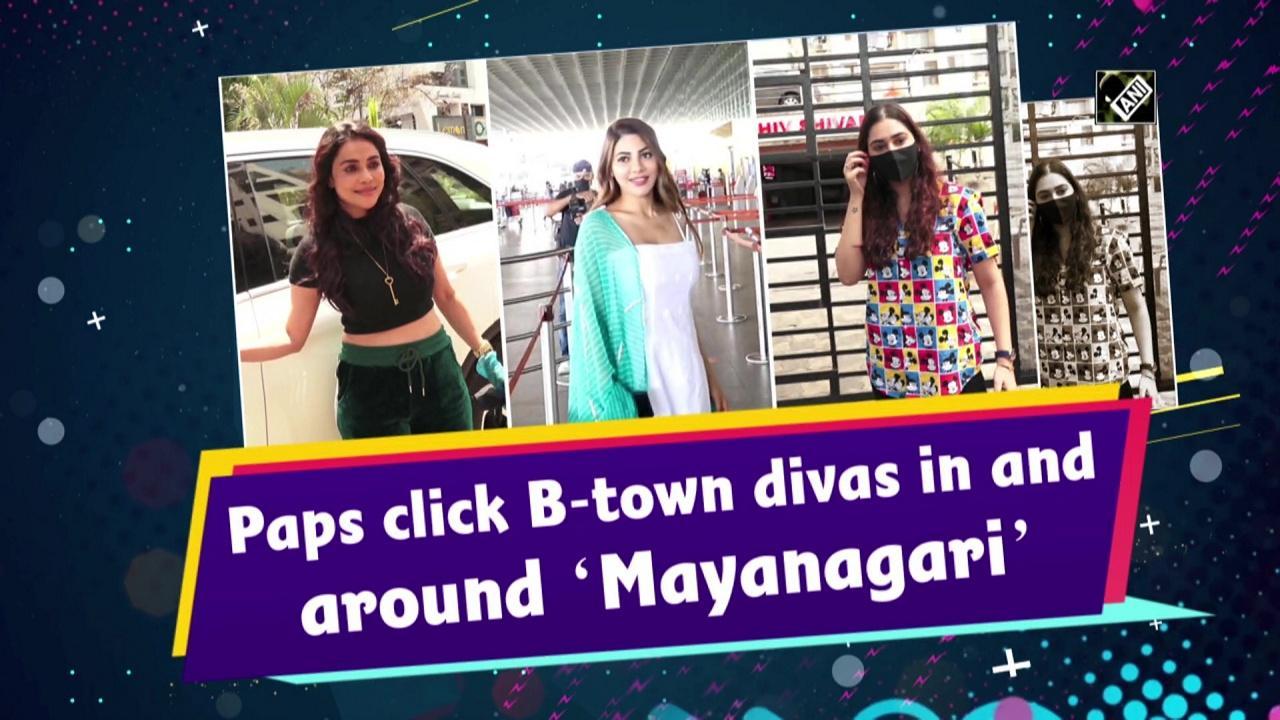 Paps click B-town divas in and around 'Mayanagari'