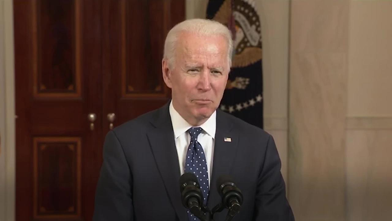 President Joe Biden speaks after George Floyd verdict