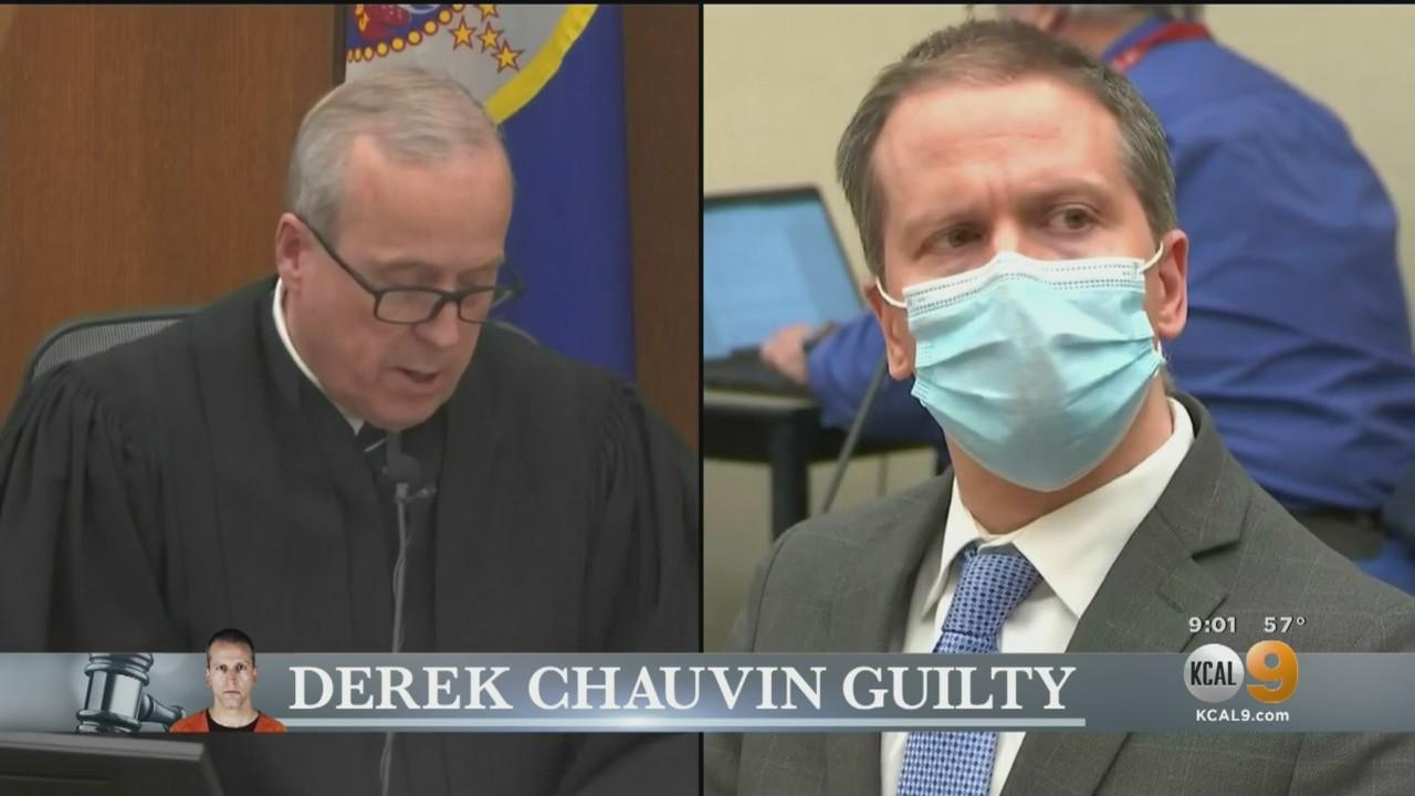 Derek Chauvin Guilty On All 3 Counts In George Floyd's Death