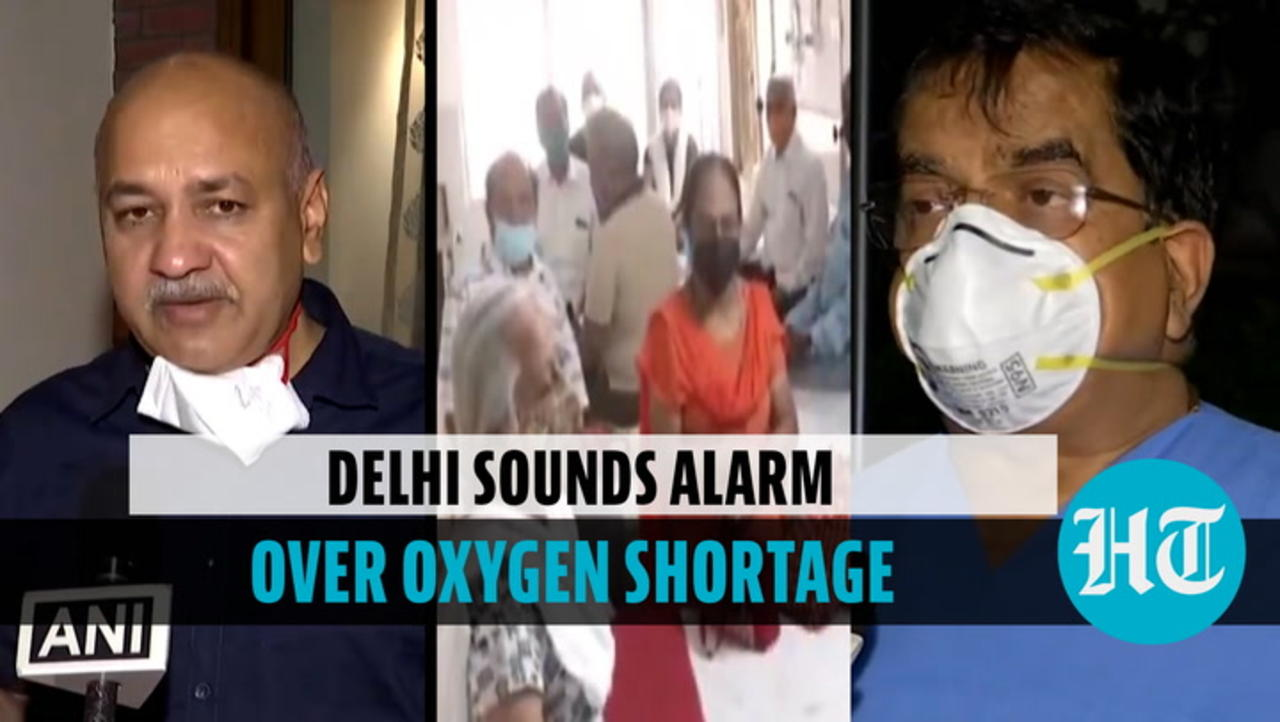 'Most Delhi hospitals will run out of oxygen in 8-12 hours': Manish Sisodia