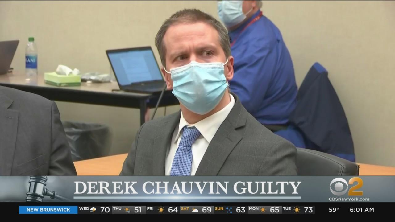 Derek Chauvin Guilty On All Counts