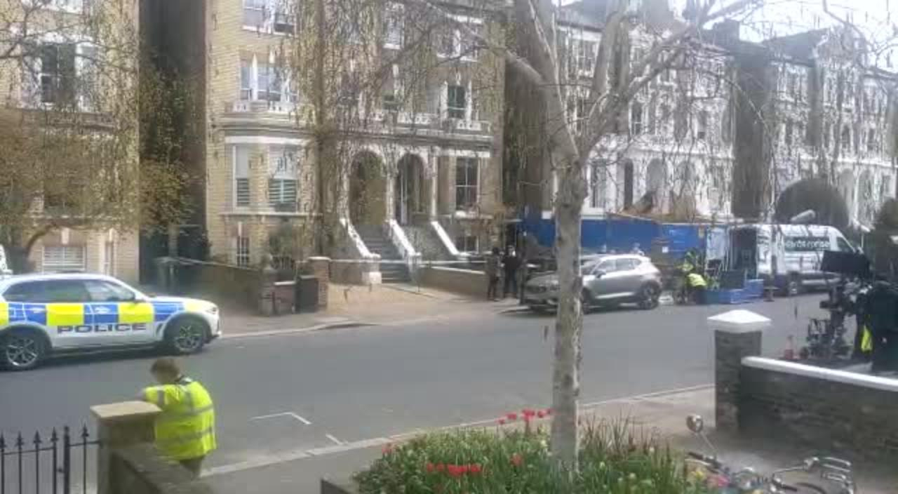 Cast of new BBC crime drama The Chelsea Detective spotted filming in London