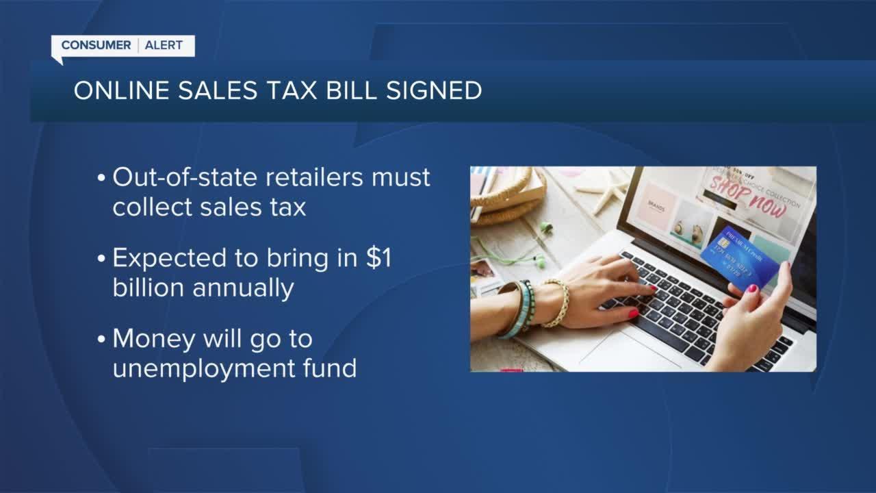 Gov. Ron DeSantis quietly signs online sales tax bill into law