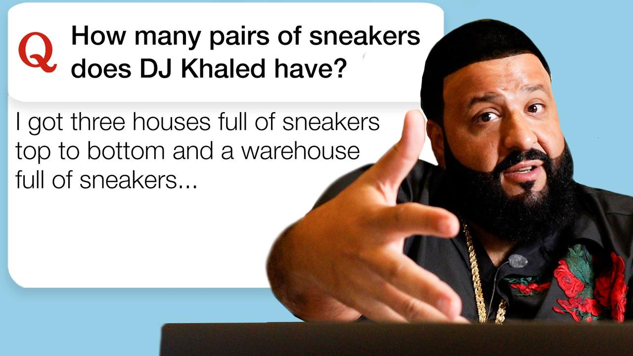 DJ Khaled Goes Undercover on Reddit, YouTube and Twitter