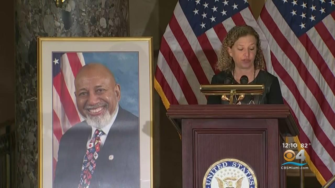 Celebration Of Life Ceremony Held For South Florida Congressman Alcee Hastings