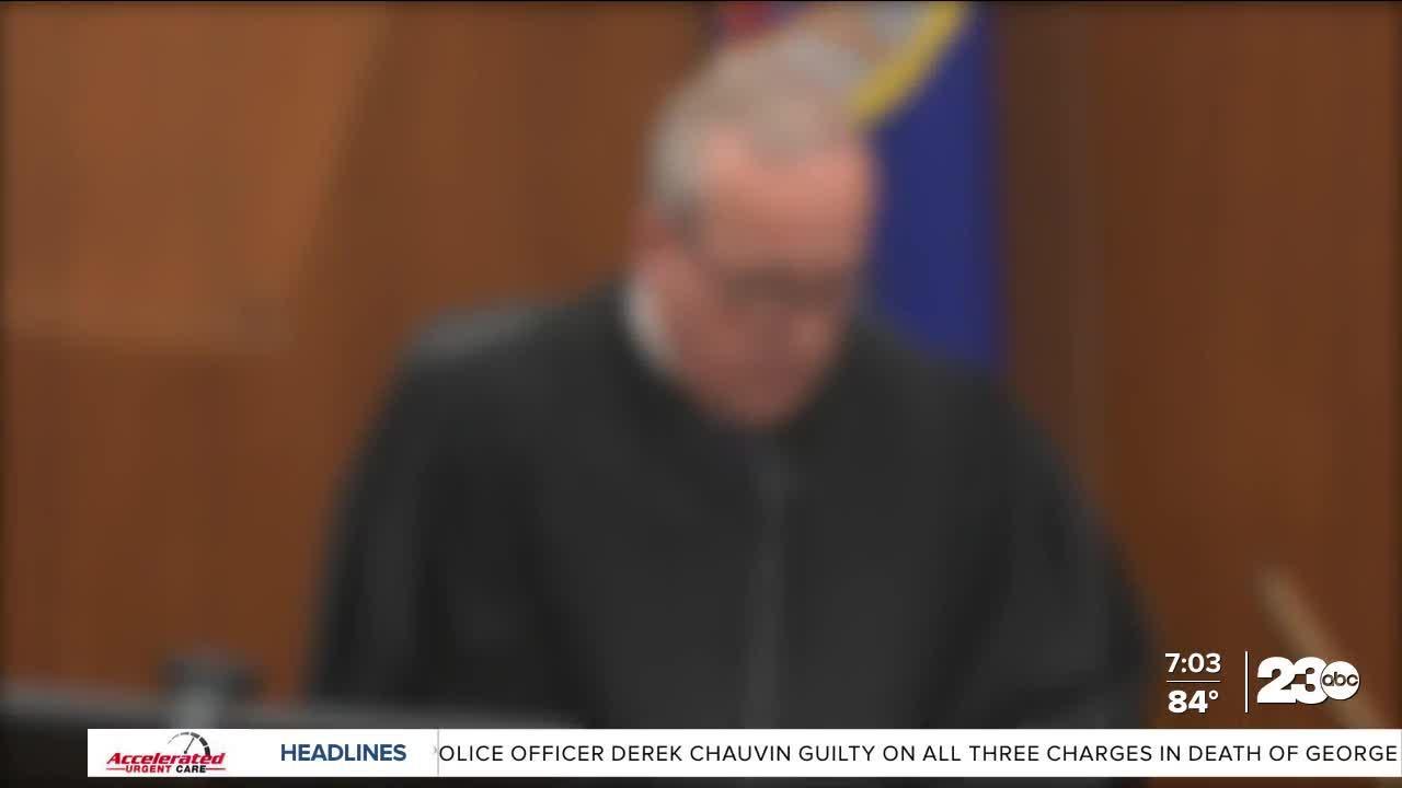 Arleana Waller reacts to Derek Chauvin guilty verdict