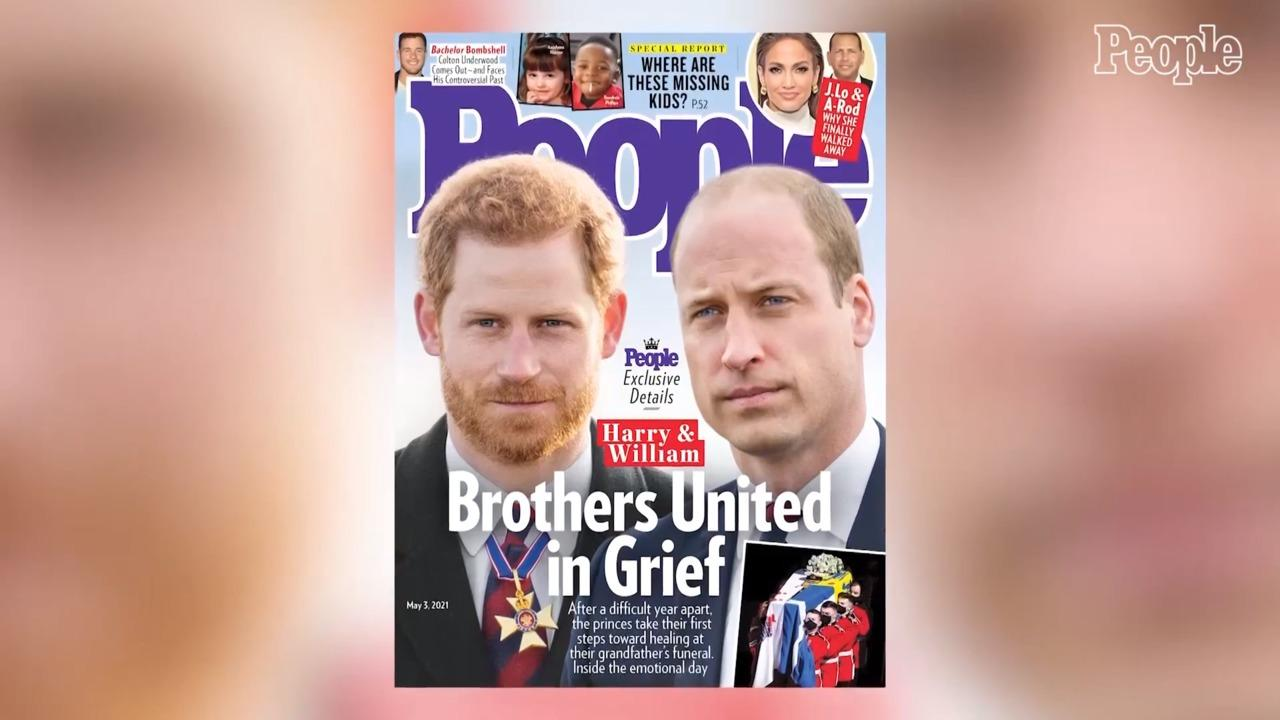 Prince Harry and Prince William 'Drifted to Each Other Like the Old Days' at Prince Philip's Funeral