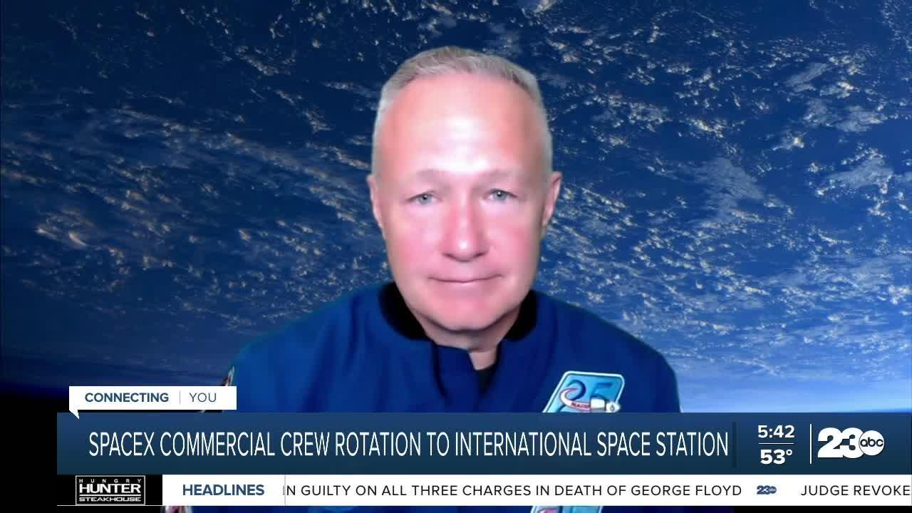23ABC Meteorologist Elaina Rusk speaks with NASA astronaut