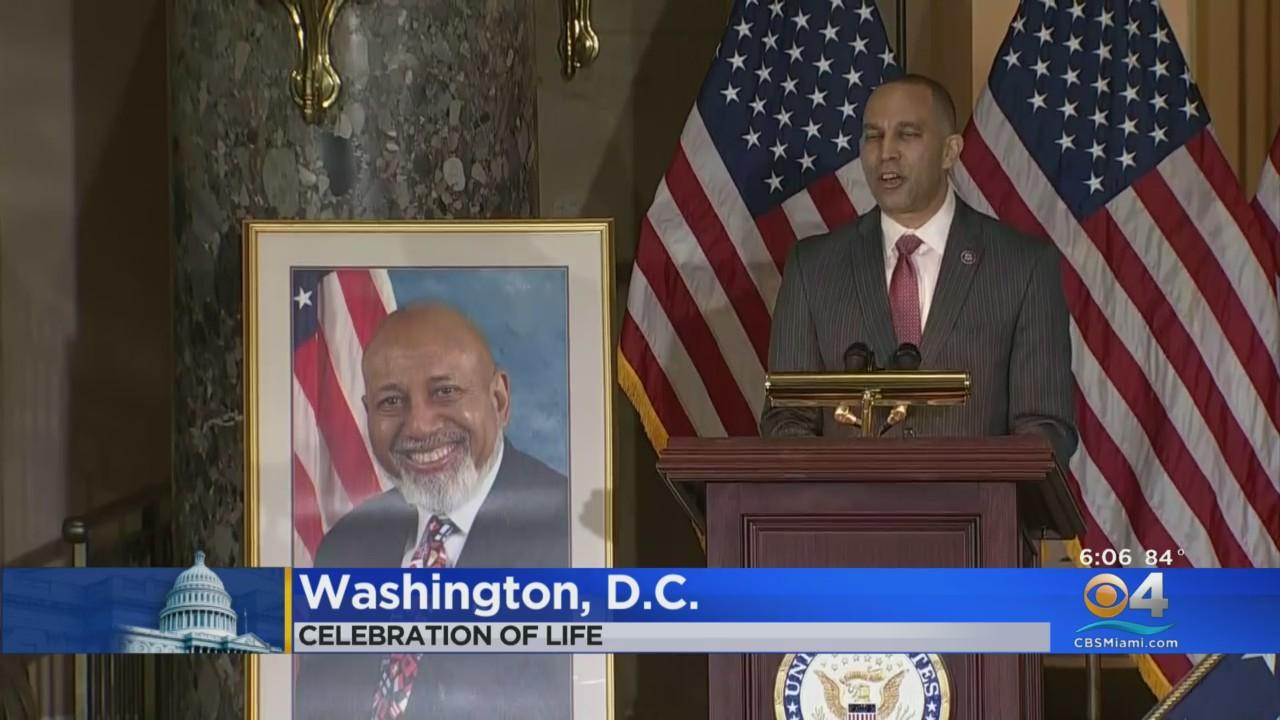 'He Was Florida Through And Through': Congressional Leaders Hold Celebration Of Life For Late Rep. Alcee Hastings