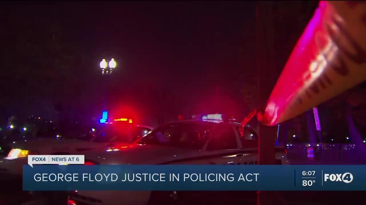 What is the George Floyd Justice in Policing Act, and what would it do?