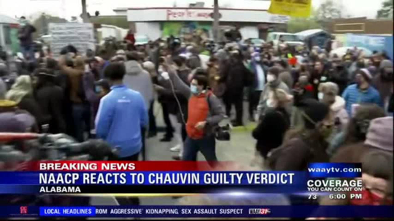 NAACP reacts to Chauvin guilty verdict