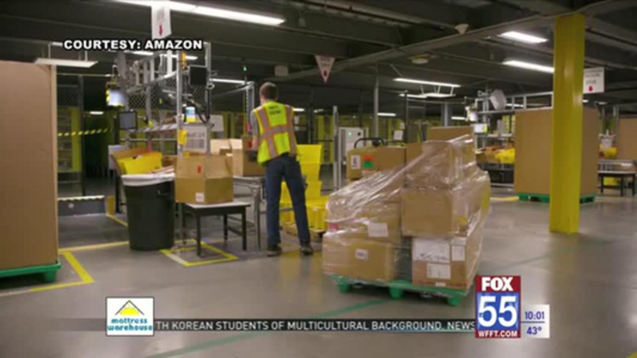 Amazon announces fulfillment center at Project Mastodon land