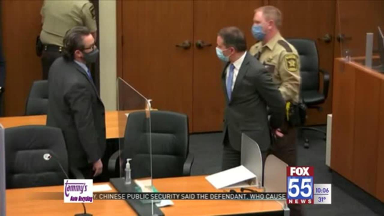 Jury finds Derek Chauvin guilty murder, manslaughter in George Floyd case
