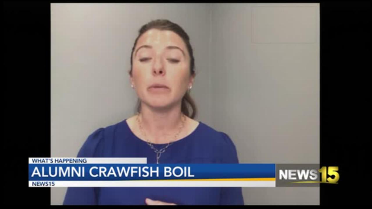 Get Some Mudbugs At The Alumni Crawfish Boil