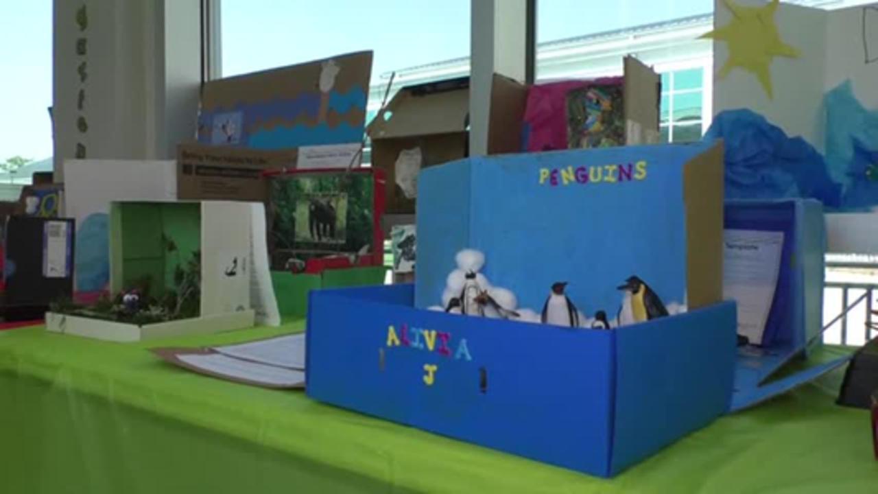 Pass Christian kindergartener's creative handiwork on display