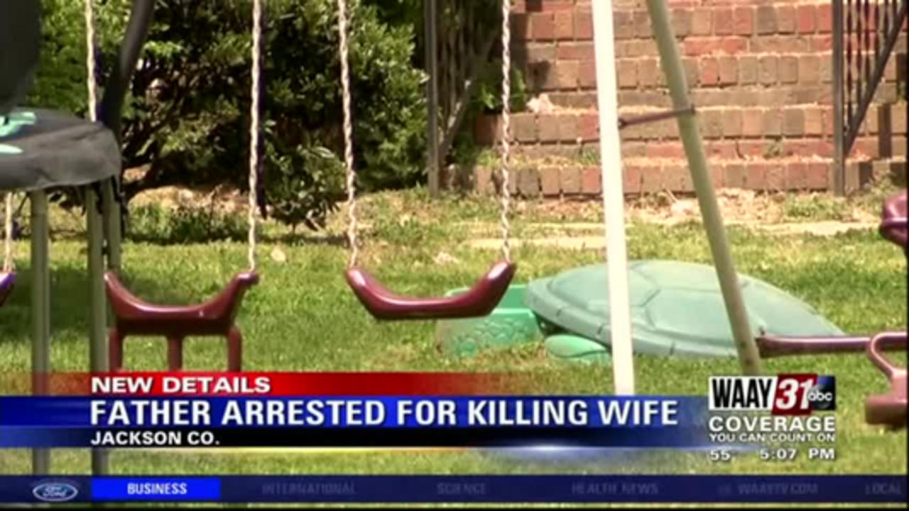 Father arrested for killing wife in Jackson County