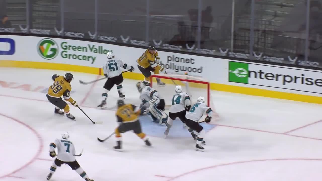 Vegas Golden Knights vs. San Jose Sharks - Game Highlights