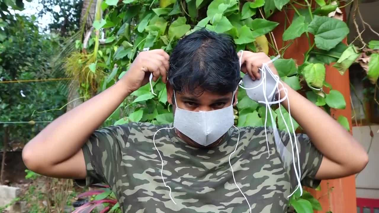 Earth Day: Indian activists invent biodegradable face masks embedded with seeds