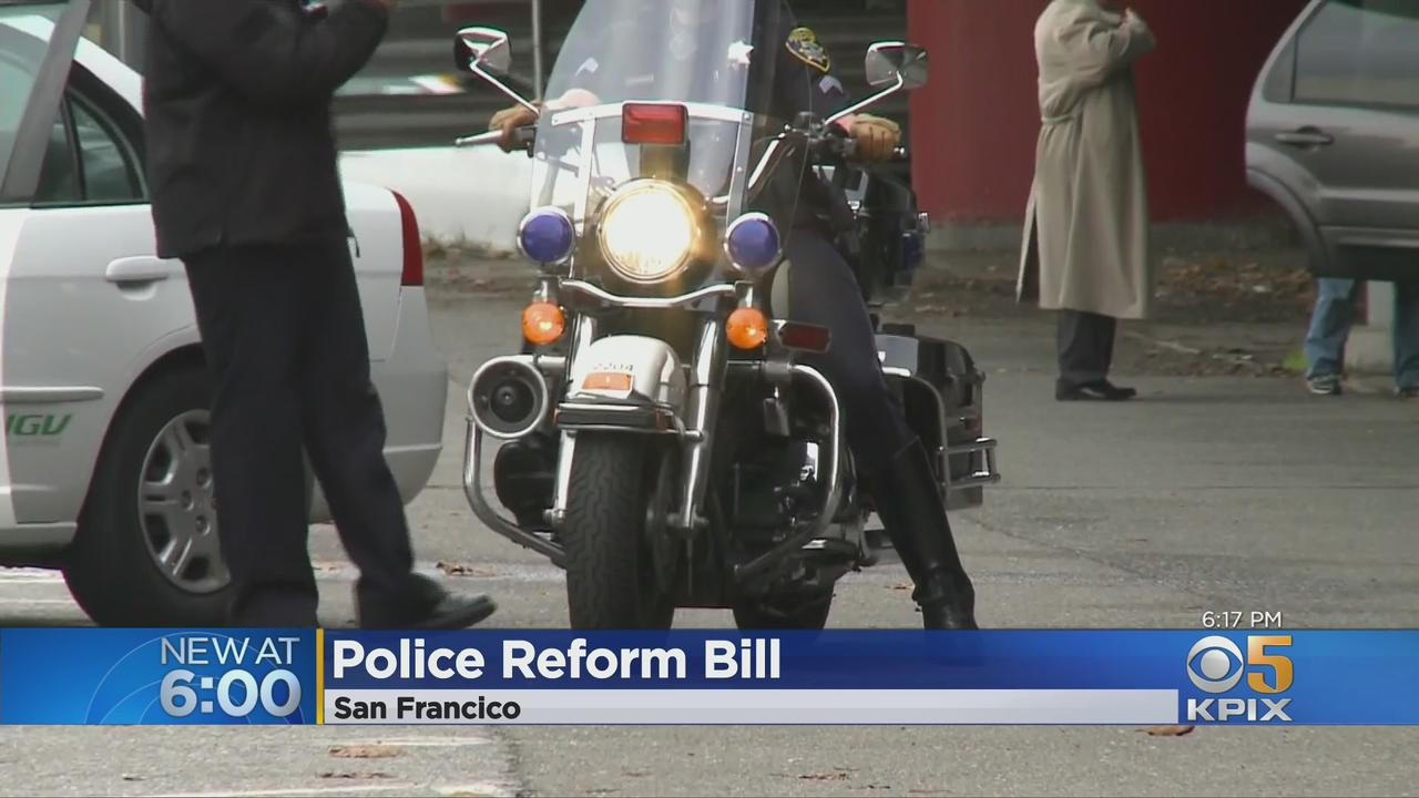 DA Chesa Boudin Touts Police Reform Legislation AB 127; SFPD Pushes Back