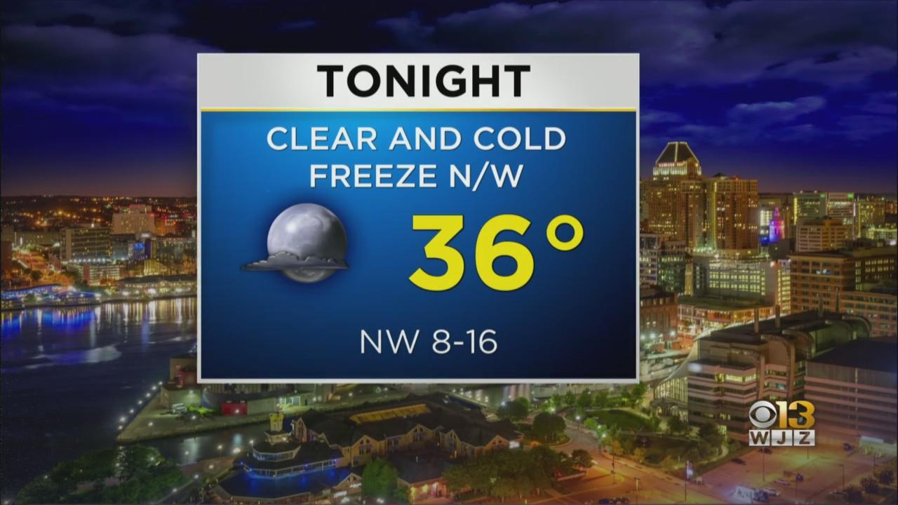 Meterologist Bob Turk Has Your Evening Forecast For April 21