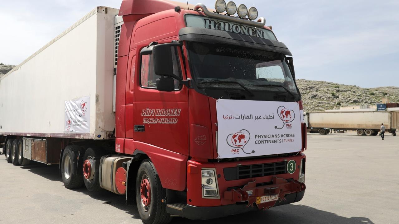 Syria's Idlib region receives first batch of COVID-19 vaccines