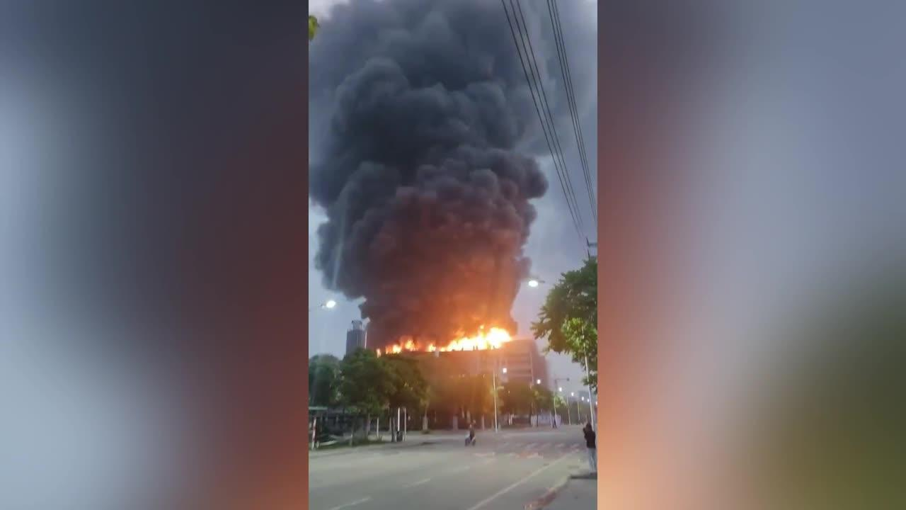 Two killed after factory explodes in southern China