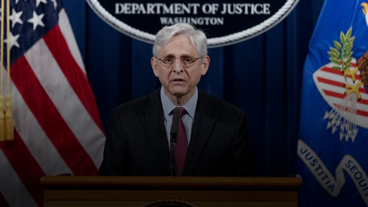 AG Merrick Garland Announces Investigation Into Minneapolis Police Dept