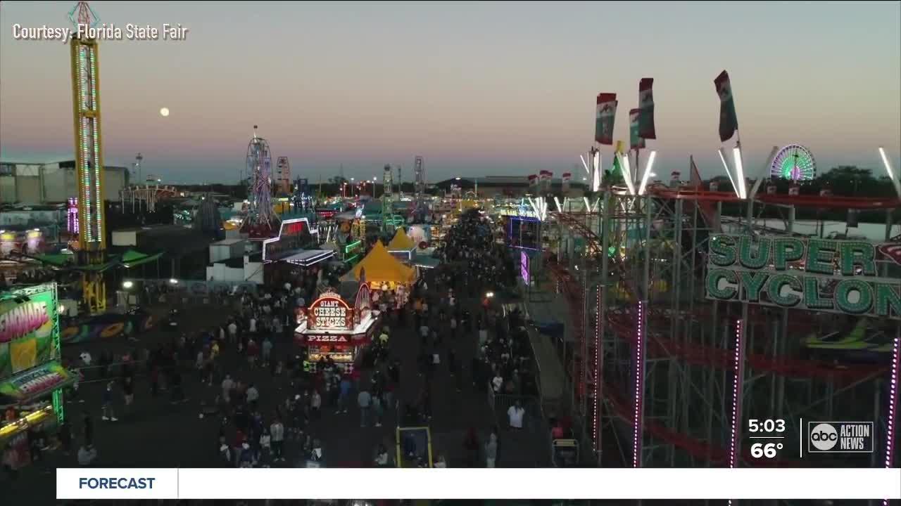 Florida State Fair begins Thursday