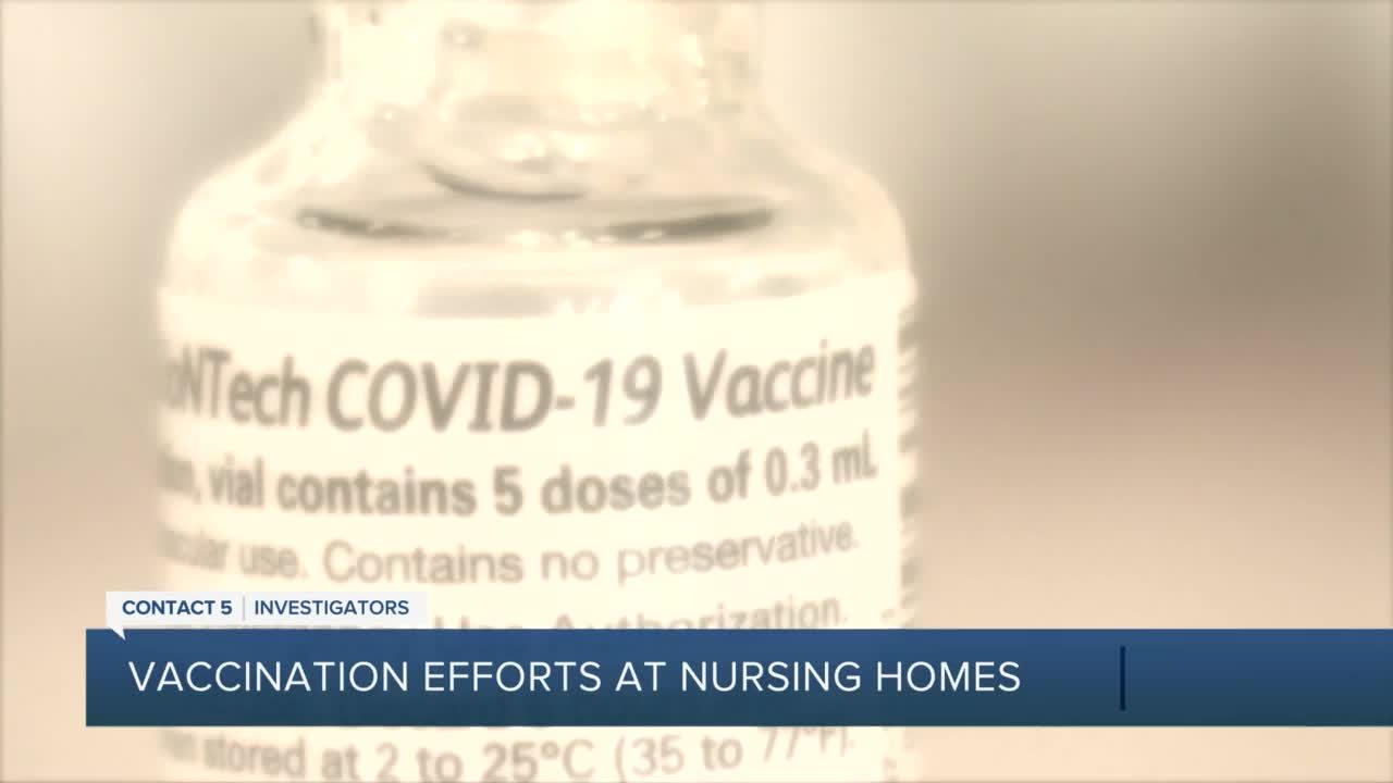 Long-term care centers using new tool to encourage vaccinations among hesitant staff and family
