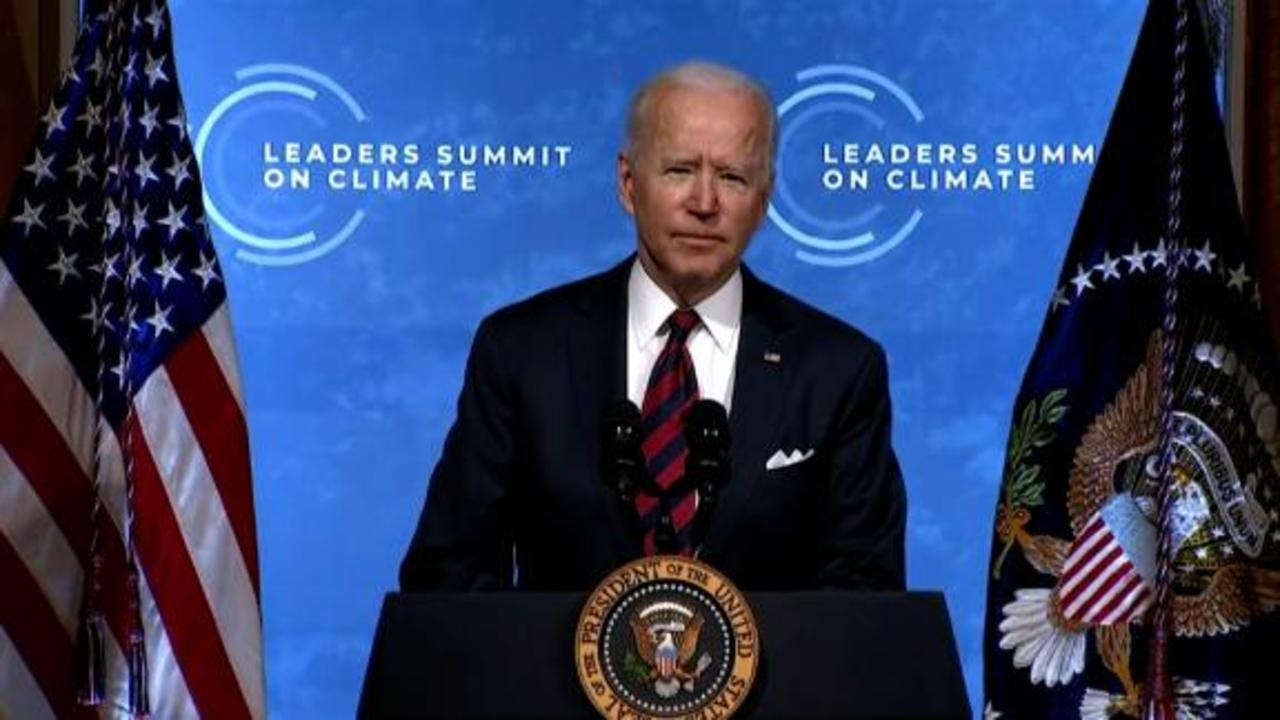 Biden opens global climate summit: 'This is a moral imperative'