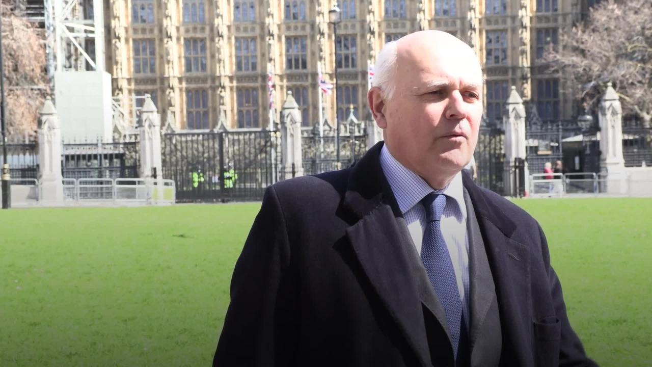 Ex-Tory leader wants China 'called to account' over treatment of Uighur Muslims