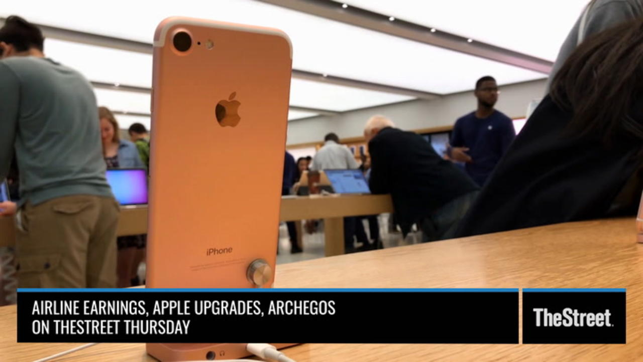 Airline Earnings, Apple and Archegos– On TheStreet Thursday