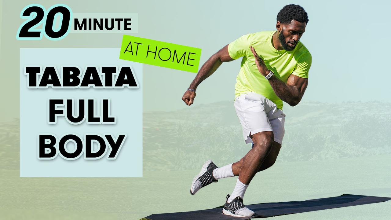 20-Minute Tabata Full-Body Workout - No Equipment at Home