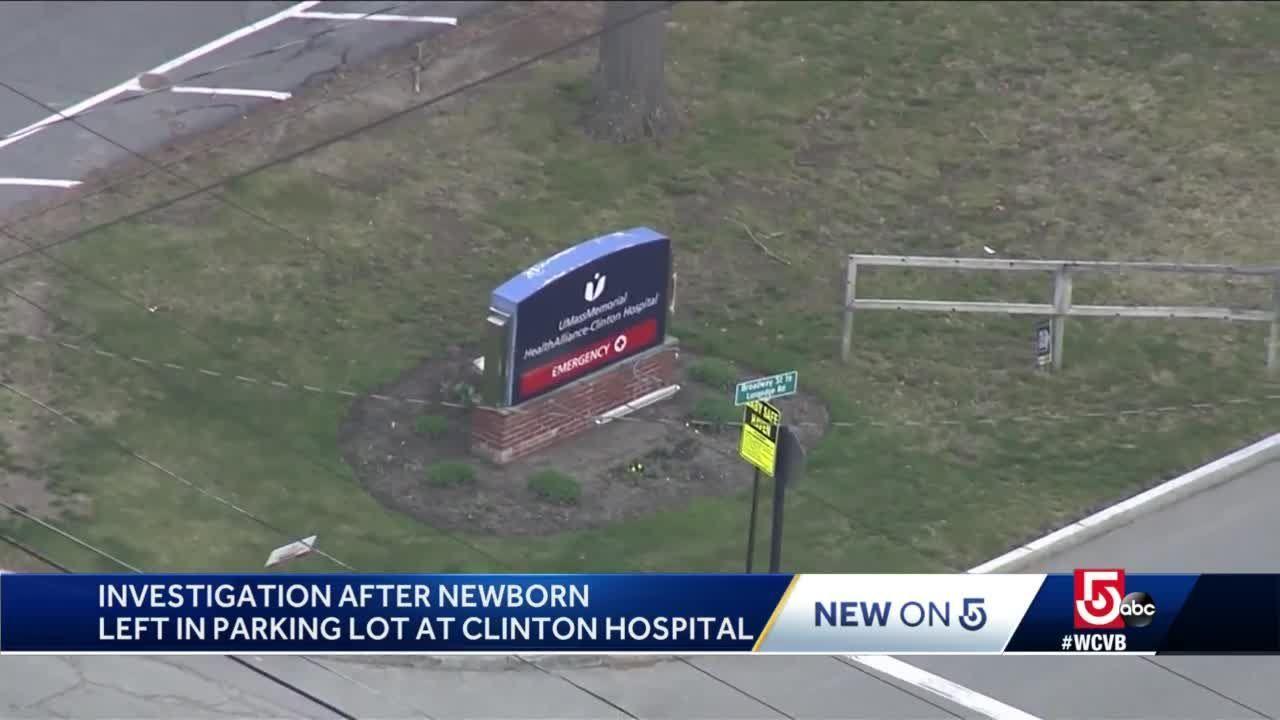 Newborn abandoned outside Mass. hospital
