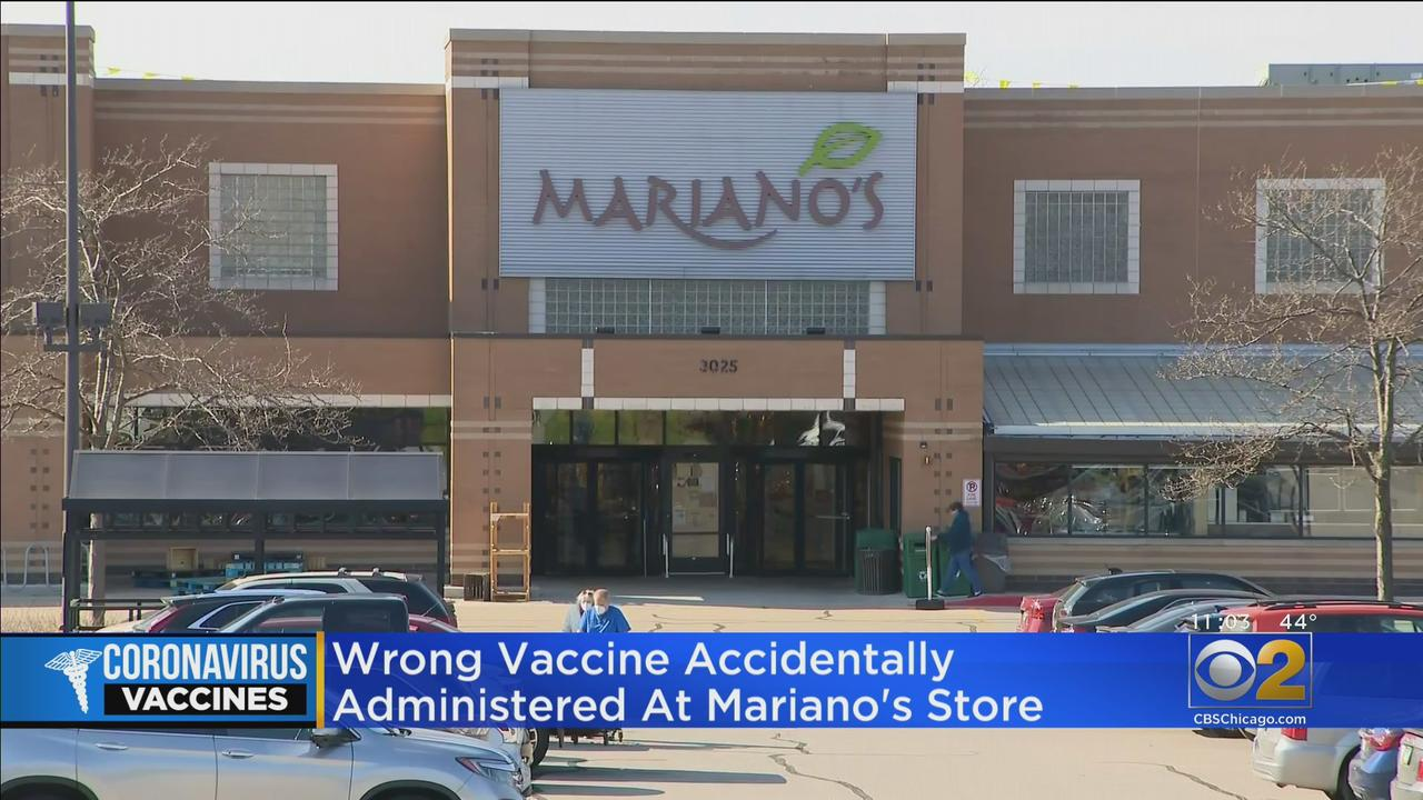 Wrong Vaccine Accidentally Administered At Mariano's In Aurora