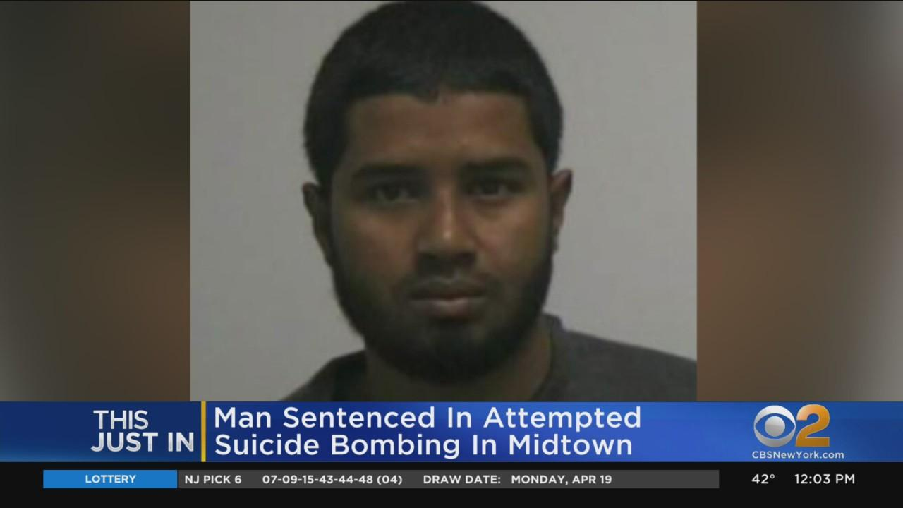 Attempted Suicide Bomber Sentenced To Life