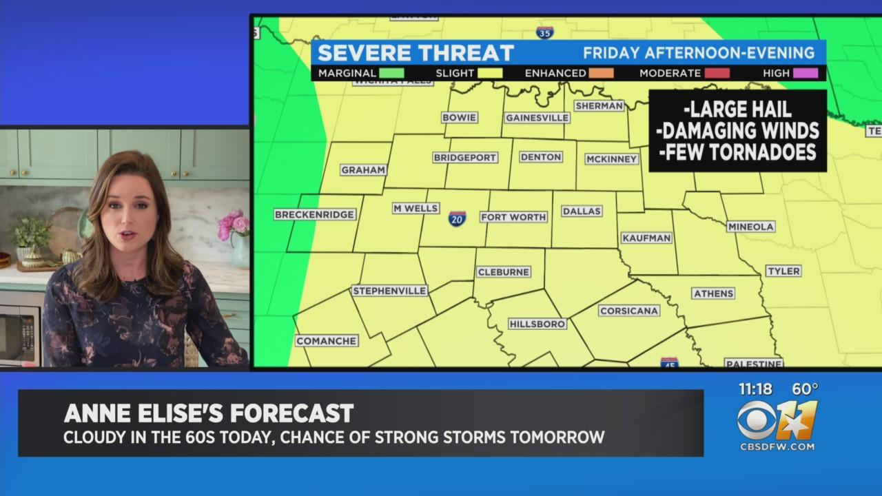 Anne Elise Parks' Mid-Day Weather Update