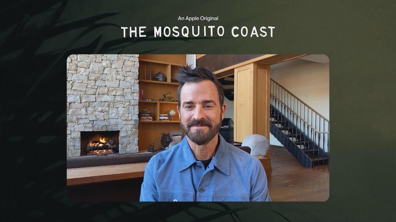 Justin Theroux On Following In Harrison Ford's Footsteps For 'The Mosquito Coast'