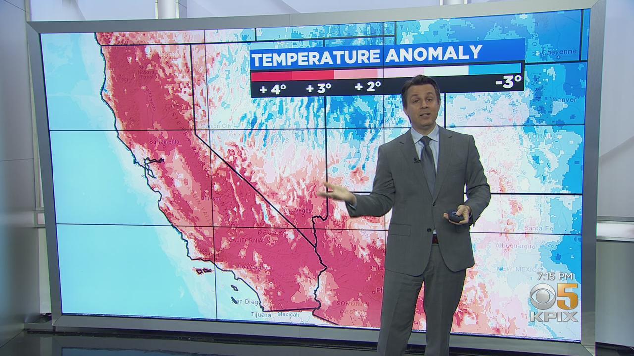 Drought:  KPIX 5 meteorologist Darren explains the unprecedented loss in Sierra snowpack over the past 3 weeks