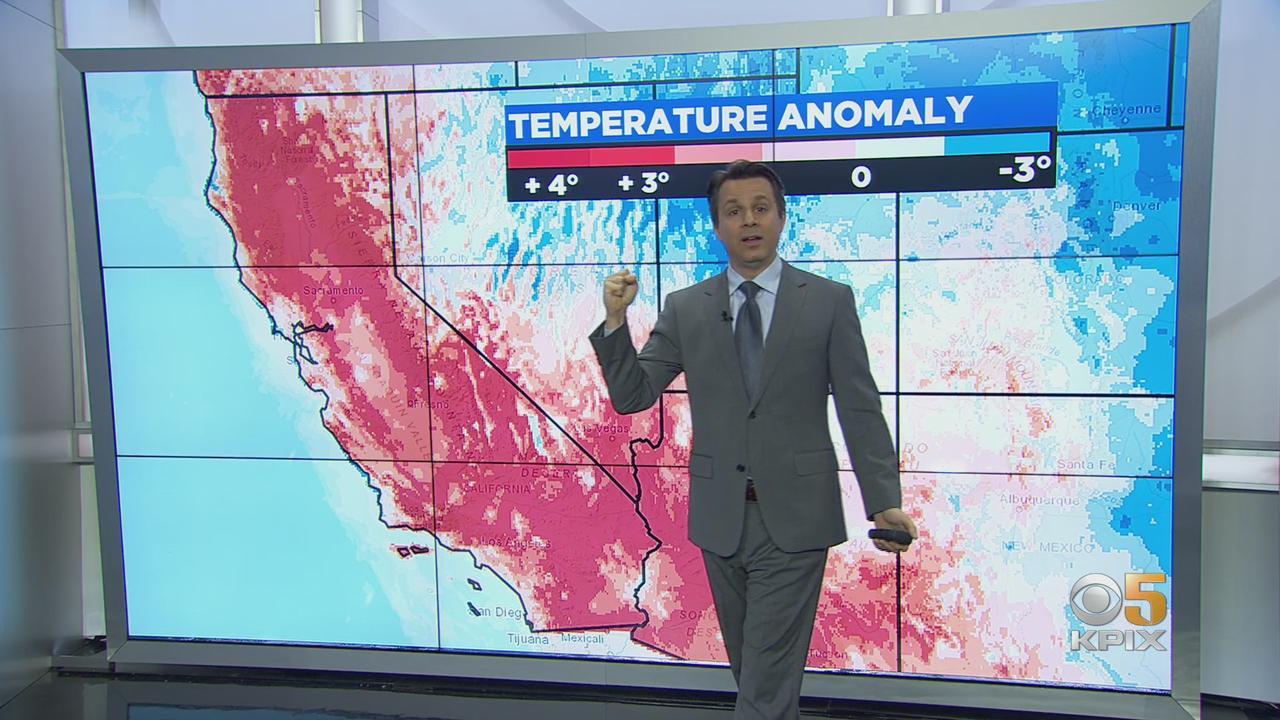 SIERRA SNOW MELT:  Unprecedented decline in Sierra snowpack since April 1st
