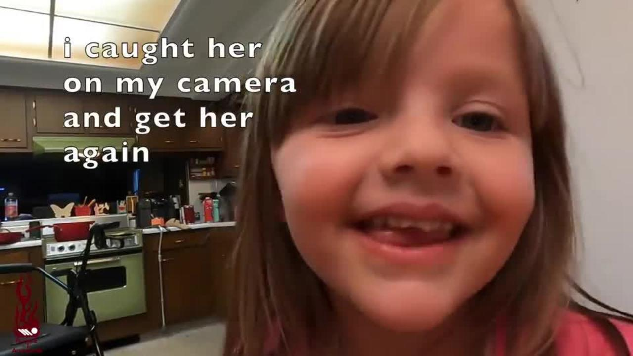 Daughter Reacts To Father Scaring Her With a Doll