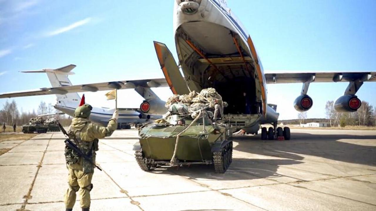 Russia says it is withdrawing its large deployment of troops near Ukraine's border