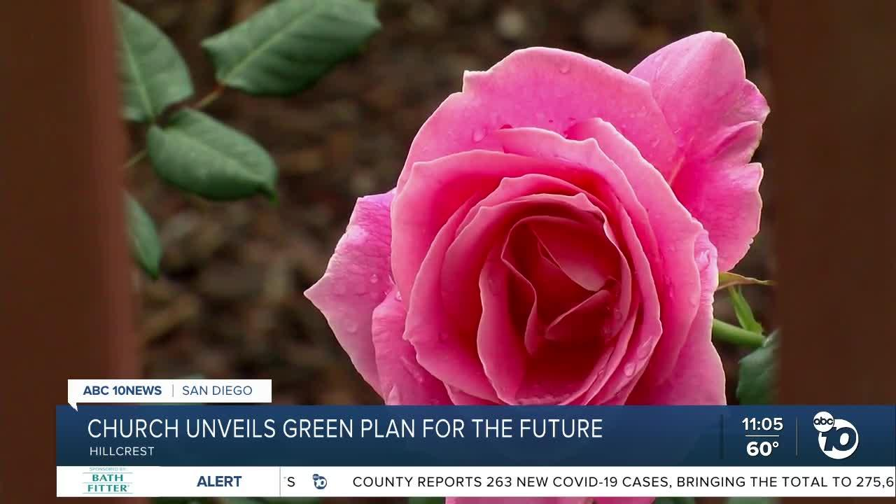 Church unveils green plan for future