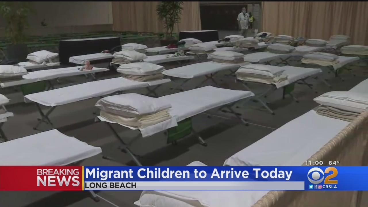 Migrant Children To Begin Arriving At Long Beach Shelter Thursday
