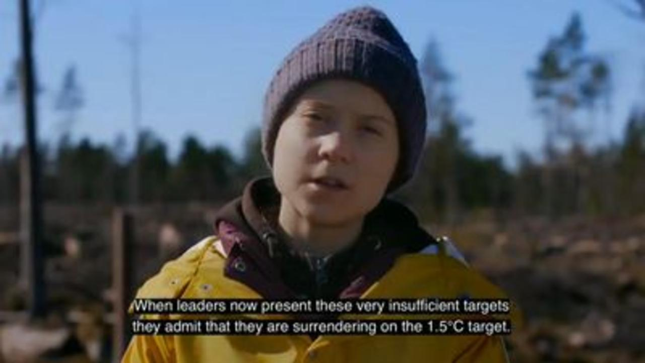 Greta Thunberg: 'Let's call out their bull****'