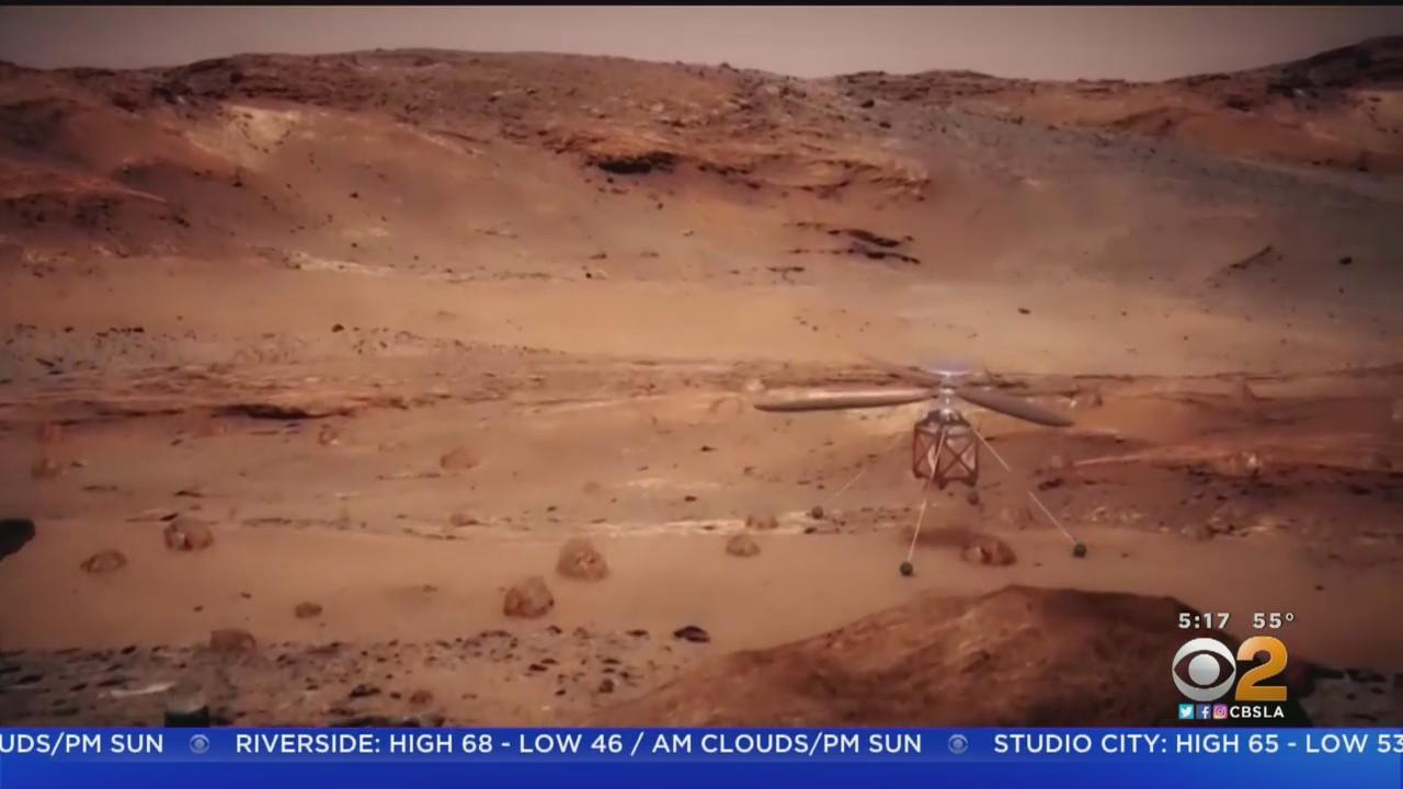 Historic: NASA Rover Produces Oxygen On Surface Of Mars