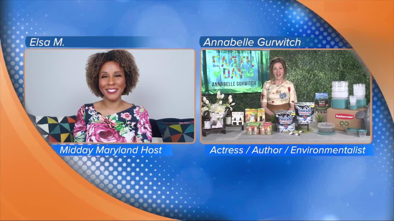 Earth Day Tips with Annabelle Gurwitch