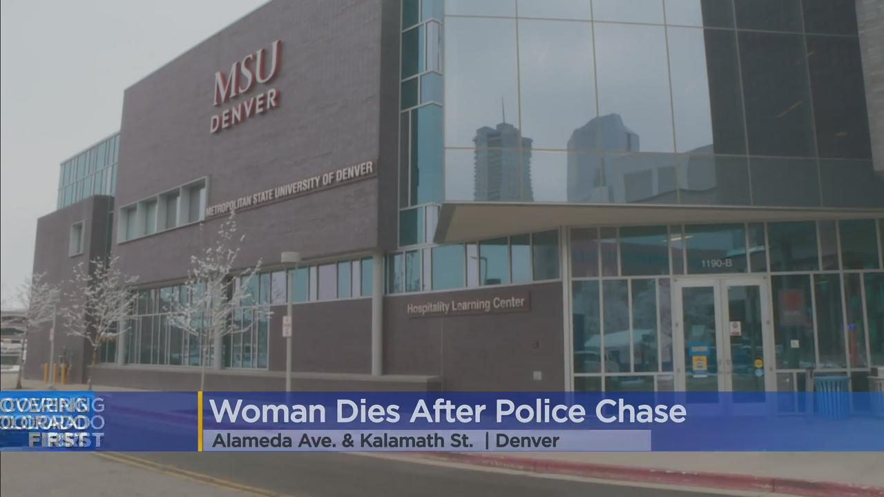 Suspect In Shooting Jumps Over Fence, Dies After Police Chase In Denver