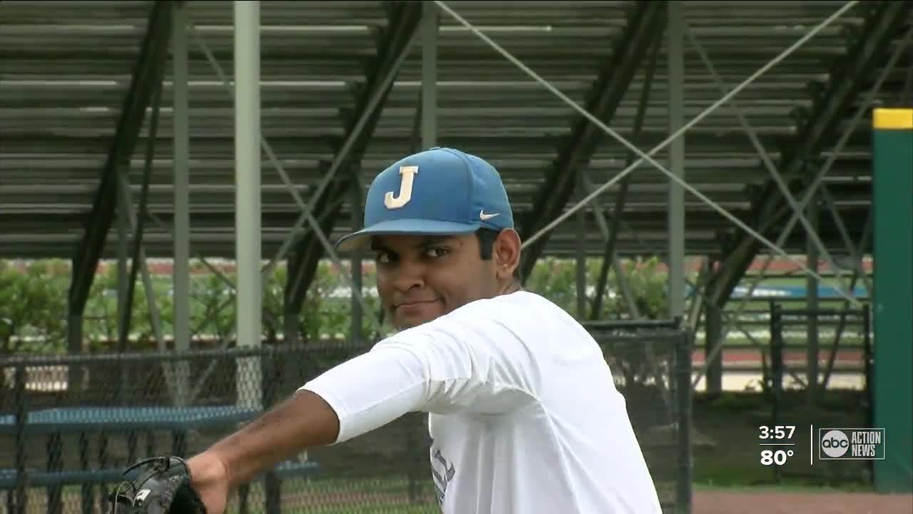Pitcher, musician, entrepreneur: Jesuit's multi-talented Jackson Shembekar