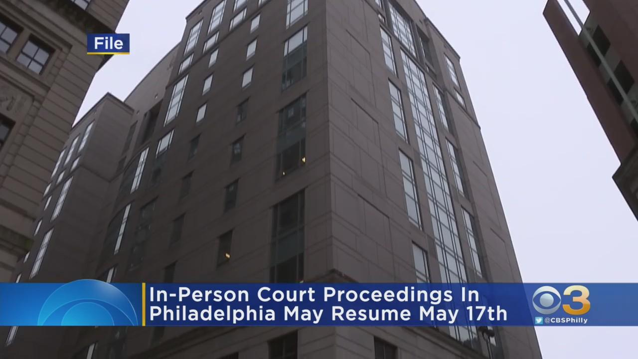 In-Person Court Proceedings To Resume In Philadelphia Next Month